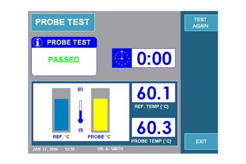 URF-3AP + MLA-4 Probe Test