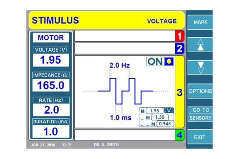 URF-3AP + MLA-4 Stimulus Motor